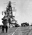 Deck view of HMCS Bonaventure (CVL 22) in April 1959.jpg