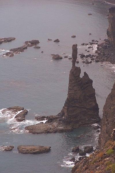 GC Puerto de las Nieves (Dedo de Dios) / Quelle: Wikipedia (© 2009 Uwe Berghaan