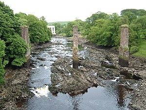 River Dee, Galloway - View of the Dee at Tongland