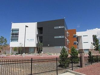 Del Norte High School (New Mexico) - Image: Del Norte High School, Albuquerque NM