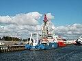 Den Helder, Marinehaven, Amige en Hunter (2).jpg