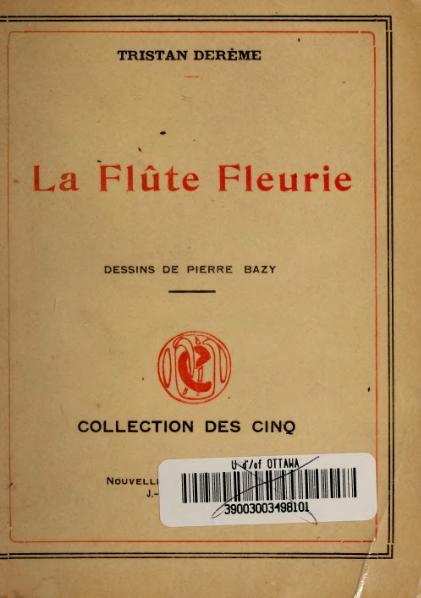 File:Derème - La Flûte fleurie, 1913.djvu
