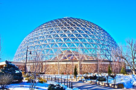 The Desert Dome of the Omaha Zoo