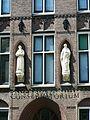Detail Sculpture Conservatorium-St. Johannes de Deo Mariaplaats Utrecht.JPG