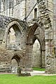 Detail of the northern side of Tintern Abbey Church.jpg