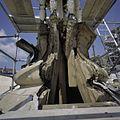 Detail van de toren, tijdens restauratiewerkzaamheden - Domburg - 20378331 - RCE.jpg