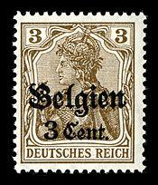 Deutsches Reich - Belgien 1