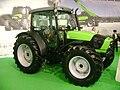 Deutz-Fahr Agrofarm 420 Tractor at IndAgra Farm Romexpo 2010.JPG
