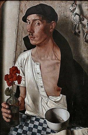 Dick Ket - Self-portrait