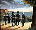 Die Bürgerwehr der Stadt Tübingen - Lithographie von 1831.jpg
