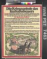 Die Kriegsgebote des Kartoffelbauers (the War Commandments of the Potato Grower) Art.IWMPST7463.jpg