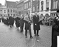 Diesviering van de Rijksuniversiteit te Utrecht, Prins Bernhard in de stoet van , Bestanddeelnr 911-1205.jpg