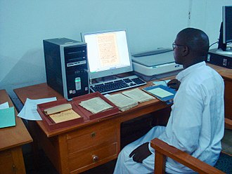 Timbuktu Manuscripts - Digitizing ancient documents at the Ahmed Baba Institute of Higher Learning and Islamic Research, 2007