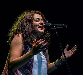 Dina El Wedidi - Dina El Wedidi in Al-azhar Park 25.6.2015