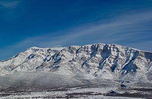 Dinara - The central Dinara massif as viewed from Suho polje.