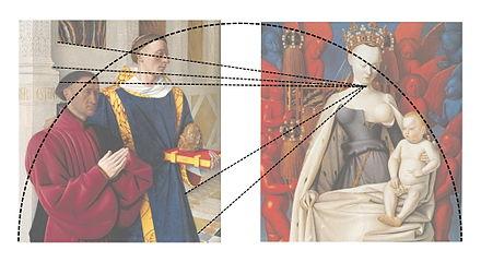 Image result for la vierge de fouquet diptyque