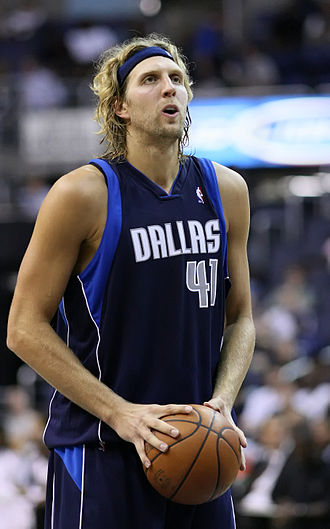 Dirk Nowitzki - Nowitzki with the Dallas Mavericks in 2009