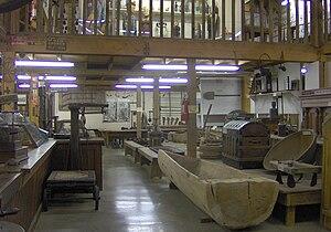 Museum of Appalachia - Display Barn interior