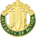 Distinctive unit insignia of the 42nd Military Police Brigade.png