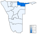 Distribution of Kavango languages in Namibia.png