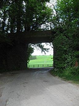Disused railway arch near Mildenhall - geograph.org.uk - 819498