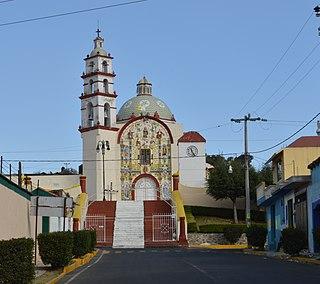 Tzompantepec Municipality in Tlaxcala, Mexico