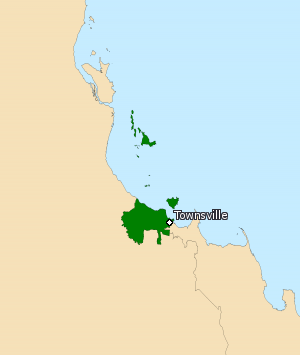 Division of Herbert - Division of Herbert in Queensland, as of the 2016 federal election.