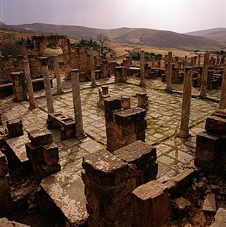 Algeria - Roman ruins at Djémila