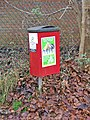 Dog waste bin in Broome Manor Lane - geograph.org.uk - 1082398.jpg