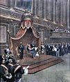 Domenica del Corriere, 19 novembre 1899 - Inaugurazione sessione XX legislatura.jpg