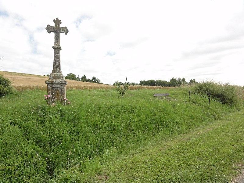 Domjevin (M-et-M) croix de chemin