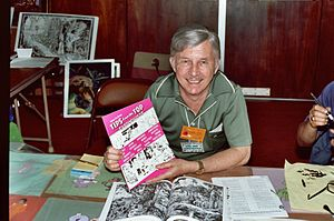 Don R. Christensen - Don R. Christensen at the 1982 San Diego Comic Con (today called Comic-Con International).