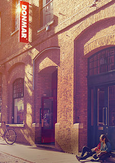 Donmar Warehouse theatre in Covent Garden, London, England