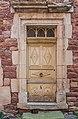 Door at Rue du Porche in Clairvaux-d'Aveyron 02.jpg