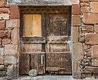 Door at Rue du Porche in Clairvaux-d'Aveyron 03.jpg