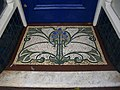 Doorway Mosaic, Belle Vue Terrace, Great Malvern - geograph.org.uk - 1079567.jpg