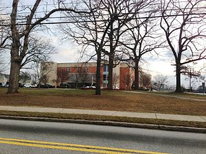 Douglass High School (Atlanta) - Front entrance