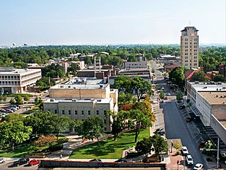 Temple, Texas - Downtown Temple