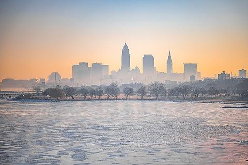 Downtown Cleveland - Cleveland Sunrise (47288342872)