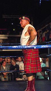 Drew McDonald Scottish professional wrestler