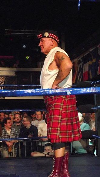 Drew McDonald - Drew McDonald at an Insane Championship Wrestling show (1 July 2012)