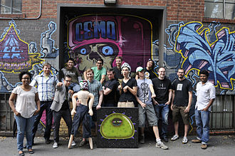DrinkBox Studios - DrinkBox Studios team photo, 2012