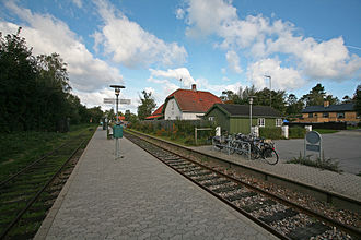 Dronningmølle - Dronningmølle Station