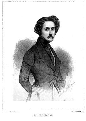 Dumanoir - Engraving of Dumanoir 1839