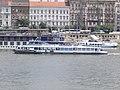 Duna Corso (ship, 1976) and Vöcsök II (ship, 1985), 2018 Budapest.jpg