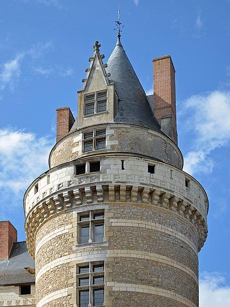 Durtal castle - Durtal- Maine-et-Loire, France