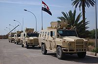 Polish Dzik-3s of the Iraqi Army