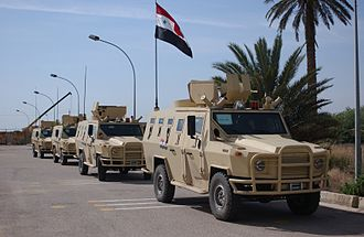 6th Division (Iraq) - The 6th Army Division's military police company received four Polish vehicles in March 2006 from the Iraqi Defense Ministry. The Dzik-3s are a huge upgrade from the light utility vehicles the MPs have used since the start of the war.