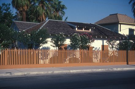 E.F. Sanguinetti Home, a museum run by the Arizona Historical Society E.F. SANGUINETTI HOME - YUMA.jpg