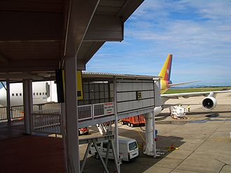 Transport in Fiji - In Nadi International Airport